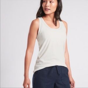 Athleta Organic Daily Tank in White